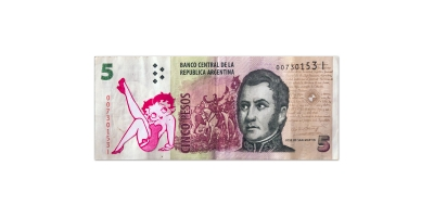 Billete Intervenido - 01